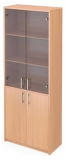 Шкаф А-310 со стеклом Астл-310 прозрачным